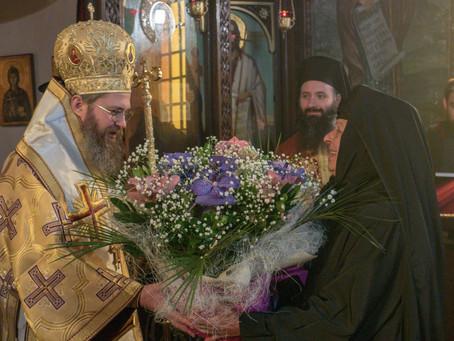 """Празникът на Чепинския манастир """"Св. Три светители"""" бе отбелязан с архиерейска св. Литургия"""