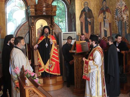 """С тържествена архиерейска св. Литургия столичният храм """"Възнесение Господне"""" отбеляза празника си"""