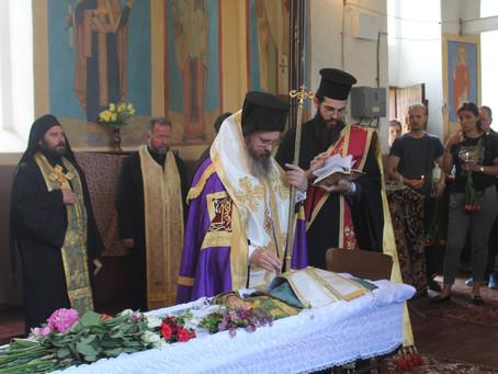 Опело и погребение на иконом Александър Гьошев