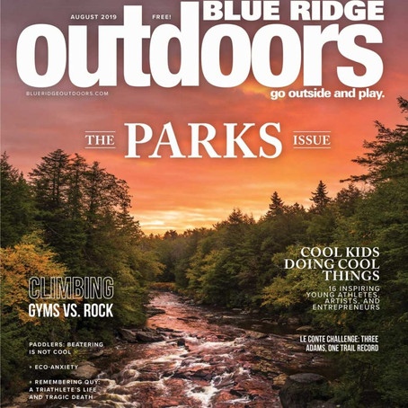 Feature in Blue Ridge outdoors Magazine