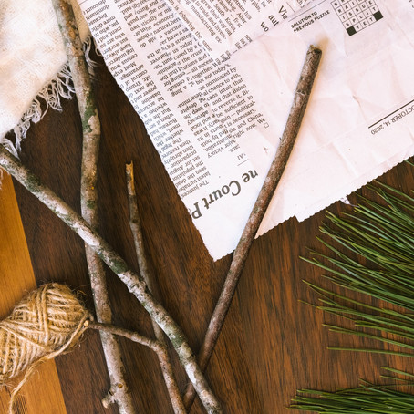 3 Eco-Friendly  Holiday Crafts