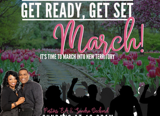 March Message from Pastor Deckard
