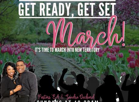 March Message from Pastor Deckard