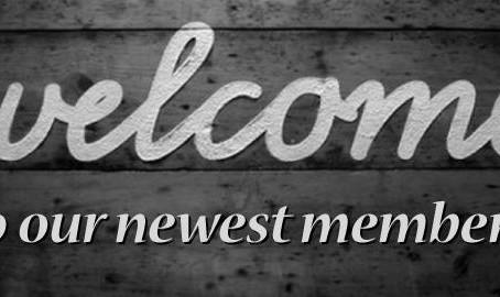 December 2019 New Members