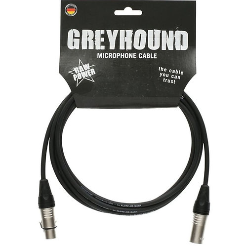 Cable de micrófono Greyhound Klotz 10 metros