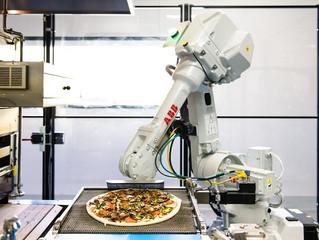 機器人做披薩 只差試吃沒辦法