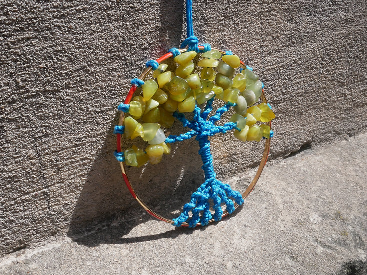 Collier Arbre de Vie Aventurine Summer
