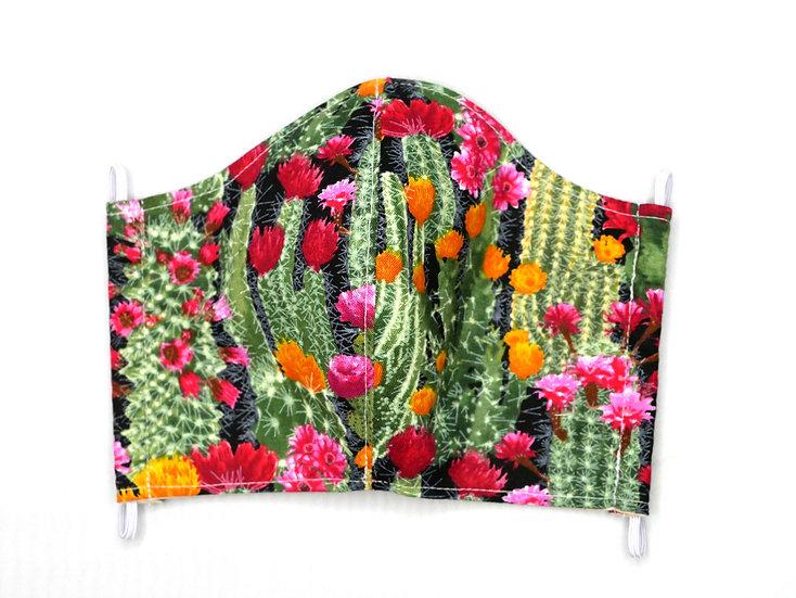 Masque Fleurs de Cactus