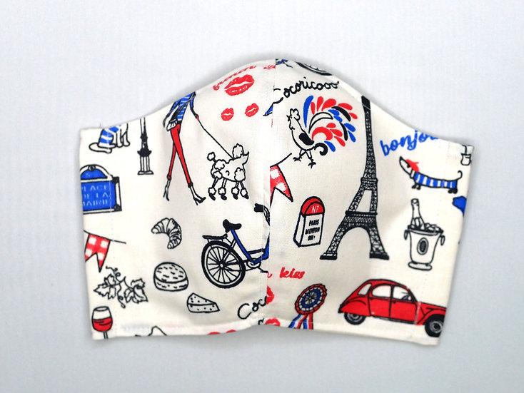 Masque Paris Mon Amour