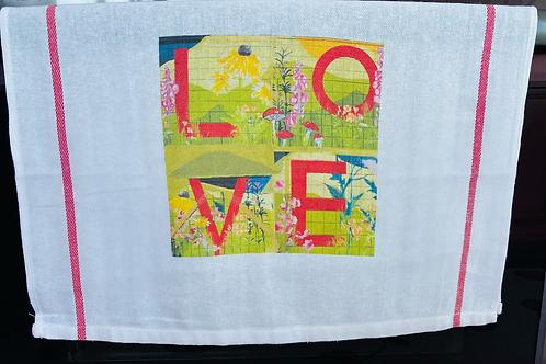 Wild Heart Tea Towel