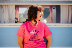 Happy Go Glamping T Shirt