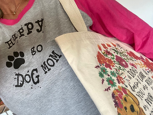 Dog Mom & Tote Bag