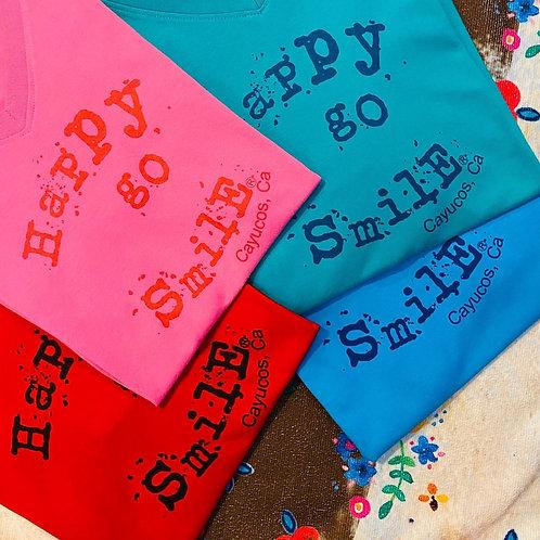 HapPy gO SmiLe t-shirt