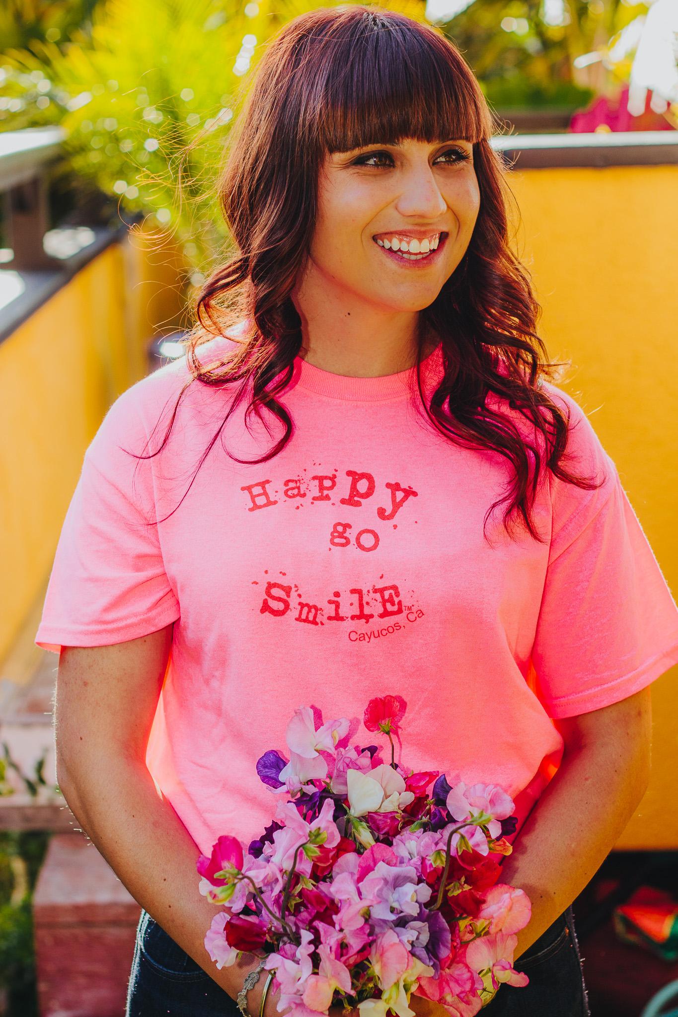Happy Go Smile shirt