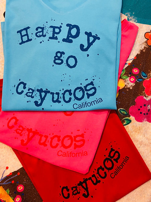 HapPy gO Cayucos t-shirt