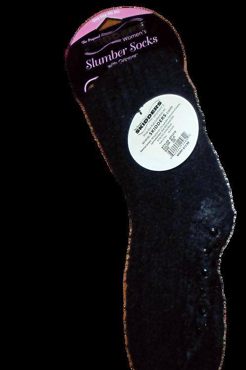 Black Women's Slipper Socks