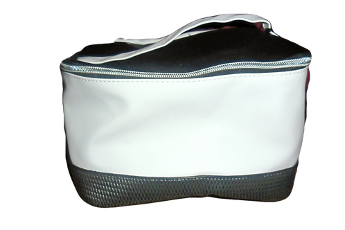 Black and White Makeup Bag