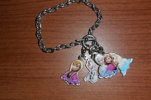 Frozen Themed Children's Charm Bracelet