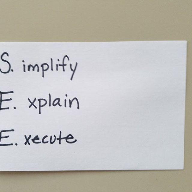 S.implify E.xplain E.xecute