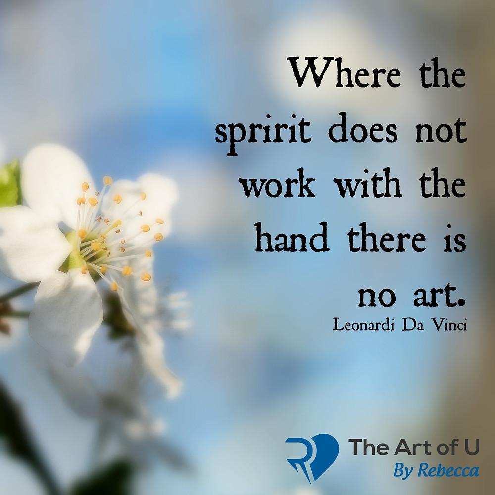 Leonardi Da Vinci quote