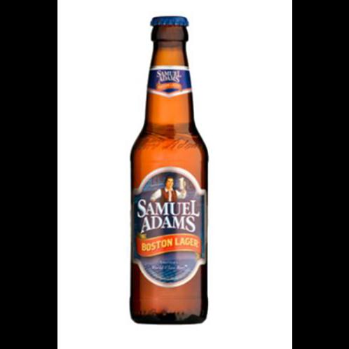 Bière blonde 4.8° 33 cl,  Samuel Adams, carton de 12 bouteilles