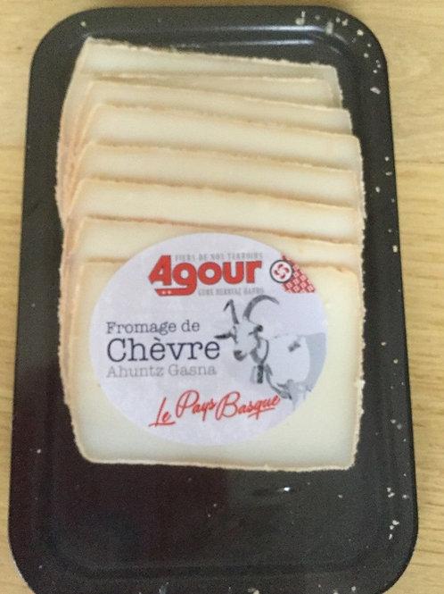 Fromage de chèvre,Ahuntz Gasna, en tranche 500g