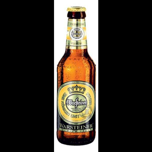 Bière blonde 4.8° 33 cl, Warsteiner, carton de 8 bouteilles