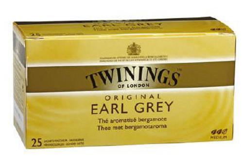 Thé Earl grey 25 sachets Twinings