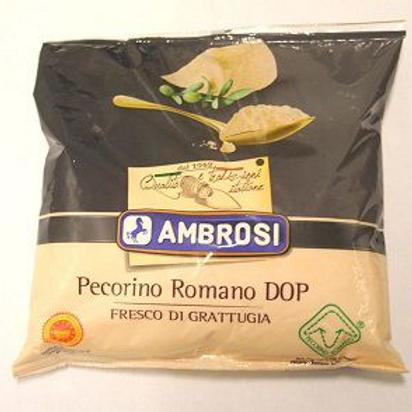 Pecorino romano râpé DOP 33% MG 500 g Ambrosi
