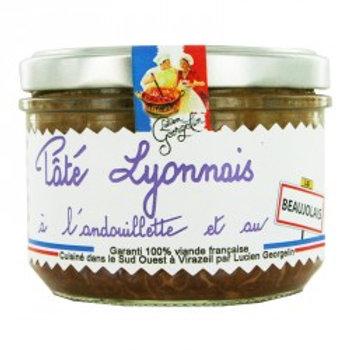 pâté lyonnais a l'andouillette et au beaujolais - 220g
