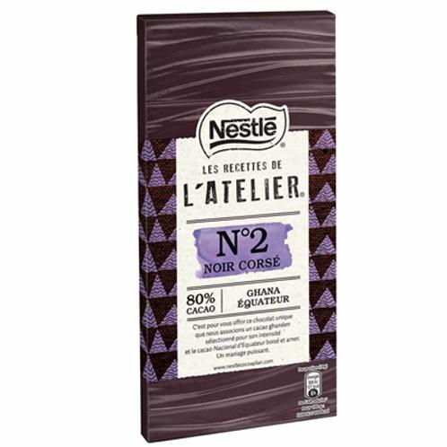 Les Recettes de l'Atelier noir corsé N°2 100 g Nestlé