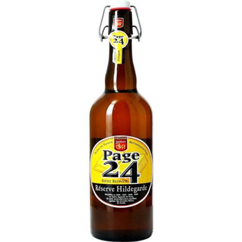 Bière blonde Réserve Hildegarde 6.9° 75 cl Page 24
