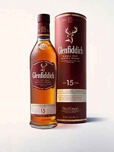 Whisky Glenfiddich Solera 15 ans 40° 70 cl