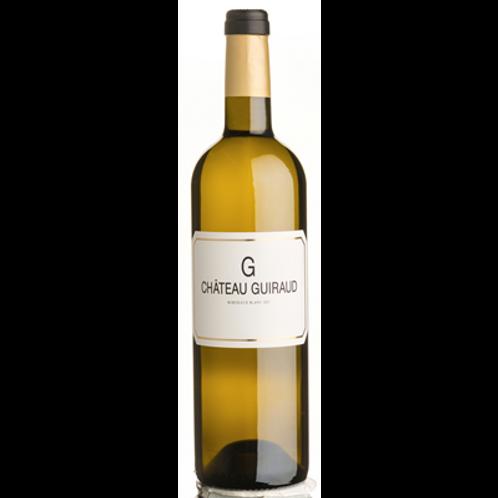 Bordeaux blanc G. de Château Guiraud Bio 2015 75 cl