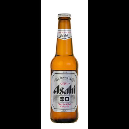 Bière blonde 5.2° 12 x 33 cl,  Asahi Super Dry, carton de 24 bouteilles