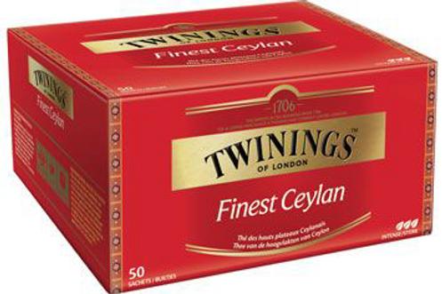 Thé Finest Ceylan 50 sachets Twinings