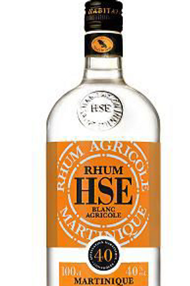 Rhum HSE Blanc 40° 1 L