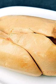 Foie gras de canard extra éveiné frais, IGP Périgord, environ 500g