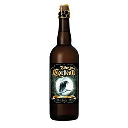 Bière blonde 9° 75 cl Bière du Corbeau