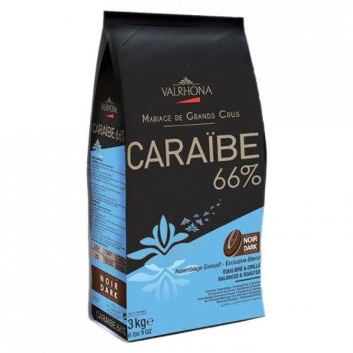 CARAÏBE 66%, Noir Assemblage de Grands Crus, sac de 3kg