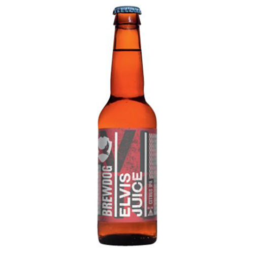 Bière ambrée 6.5° 24x33 cl  Brewdog Elvis Juice