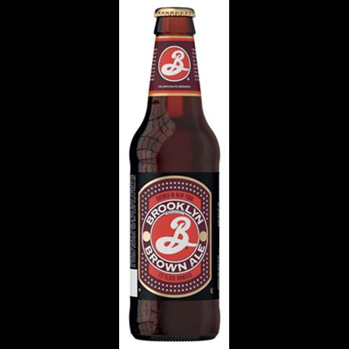 Bière brune 5.6° 35.5 cl, Brooklyn Brown, carton de 6 bouteilles