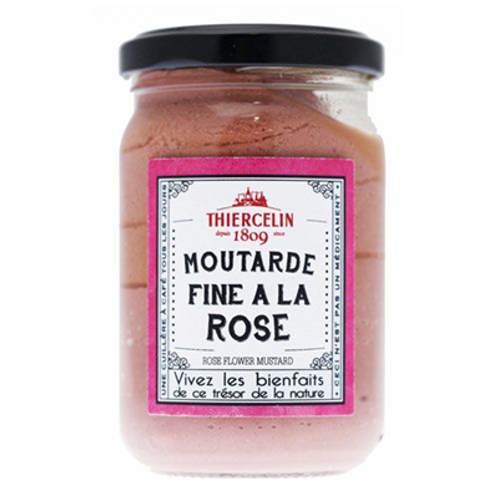 Moutarde fine à la rose 200 g Thiercelin
