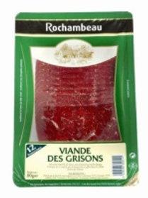 Viande des Grisons 10 Tranches, 70g, Rochambeau