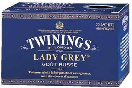 Thé Lady Grey 20 sachets Twinings