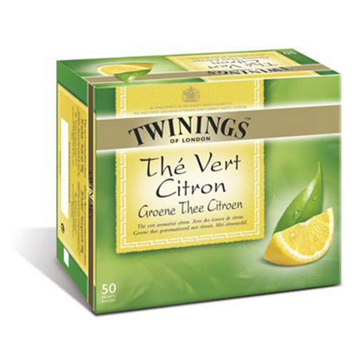 Thé vert citron 50 sachets Twinings