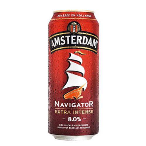 Bière blonde 8° 24X50 cl Amsterdam Navigator