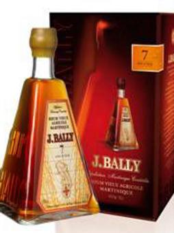 Rhum Bally Vieux 7 ans 45° 70 cl