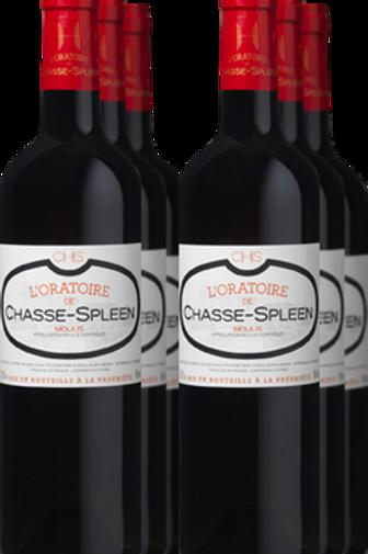 Château Chasse-Spleen L'Oratoire de Chasse-Spleen 2015 AOP Moulis 6x75CL