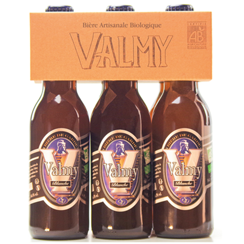Bière blanche Bio 5° 6 x 33 cl  Valmy